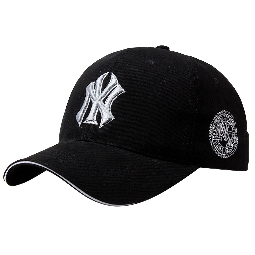 2019 new NY Three-dimensional embroidery dad hat men summer fashion   baseball     cap   wild spring autumn visor   caps   Adjustable hats