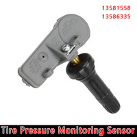 TPMS Tire Pressure Monitoring Sensor Car Accessory Frequency 315MHz 13598771 13598772 For Chevrolet For Buick