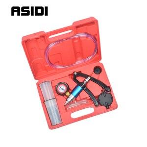 Image 2 - Probador de bomba de presión de vacío de mano, purgador de líquido de freno, Kit de sangrado, herramientas PT1790