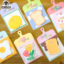 Stationery Memo-Pad Sticky-Notes School-Supplies Mr.paper Office Kawaii Cute Self-Adhesive