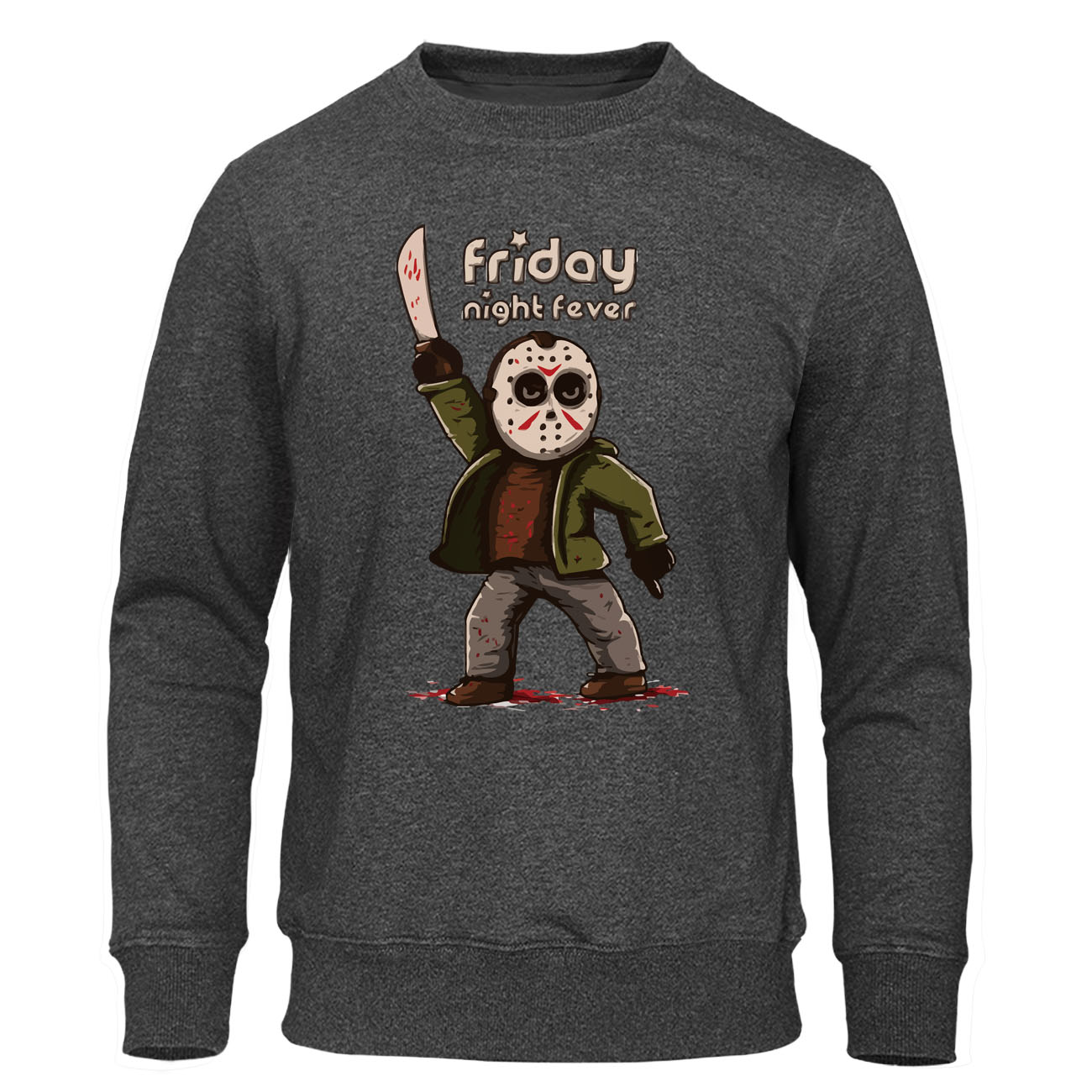 Men's Hoodies Friday The 13th Horror Prison Autumn Hoodie Hip Hop Sweatshirt Jason Voorhees Pullover Scream Halloween Streetwear