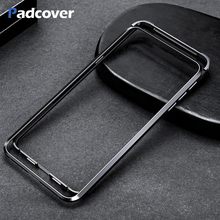 PADCOVER Metal Frame Shape Push-pull design Luxury  phone Case For Xiaomi MI MIX3 Protect Back shell Phone Cover