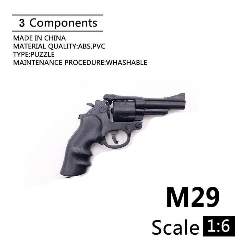 1:6 M29 Revolver Gun Model For 12