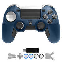 PS4 Gamepad, dual Vibration Elite PS4 2,4G Wireless Game Controller Joystick für Play Station 4 Video Gaming Konsole und PS3