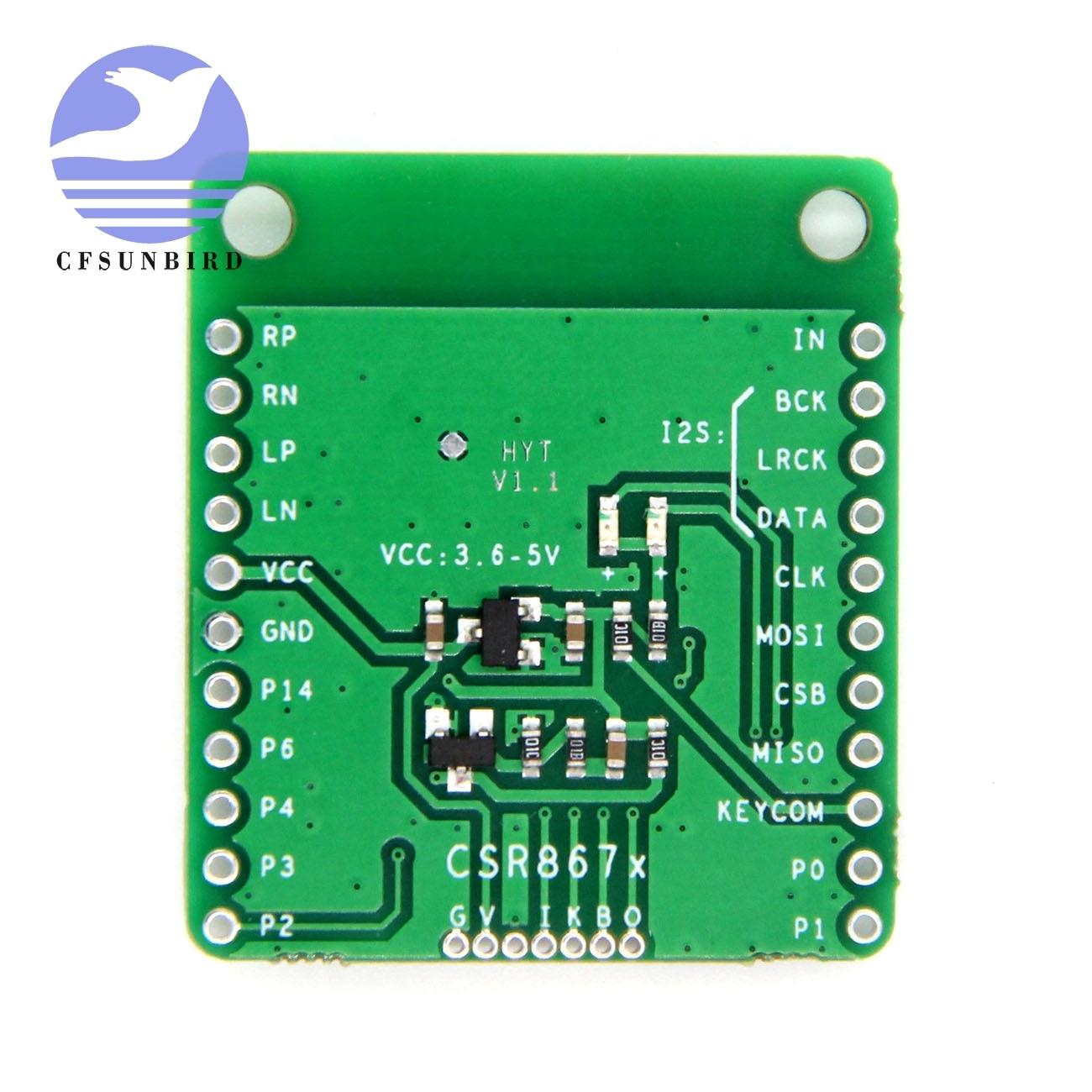 Image 3 - CSR8675 Bluetooth V5.0 Low Power Bluetooth Audio Module APTX HD Lossless Compression I2S Fiber SPDIFIntegrated Circuits   -