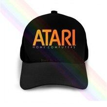 Atari Home Computers Orange Logo 2020 Newest Black Popular Baseball Cap Hats Unisex