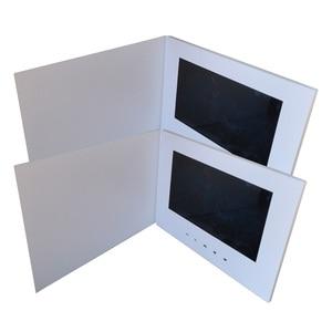 "Image 5 - Customization Smart 10"" LCD USB Smart Flip 1080P Color Screen LCD Video Photo Xmas Greeting Card Media Player"