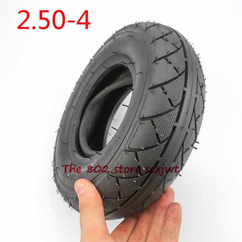 High Quality 2.50-4 Tube Tire 2.80/ 2.50-4 Inner tube Tyre Fit Electric Gas Scooter Wheelchair Wheel