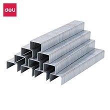 Deli ET70110 Tacker zszywki 53/8 1000 sztuk w pudełku ocynkowana drutu żelaza paznokci odcinkowych dla specjalistyczne zszywacz