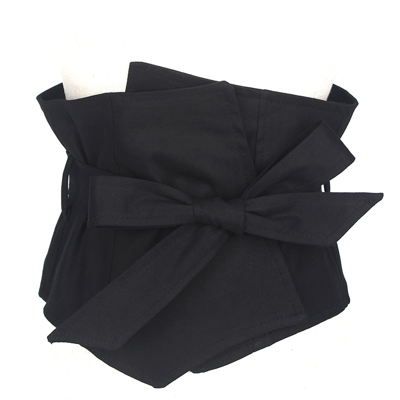 2020 New Design Drawstring Corset Belt Trendy High Fashion Belts For Women All-match Solid Belt Stylish Waistband Female ZK934