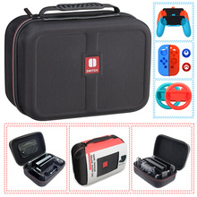 For Nintendo Switch NS Accessories Console Carrying Storage Bag Hard Case Joystick Handle Grips Silicone Case