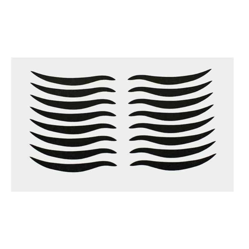 160 قطعة الأسود جفن أدوات مثير القط نمط عيون ملصقا كحل الشريط الجمال كحل ملصقا ماكياج أداة