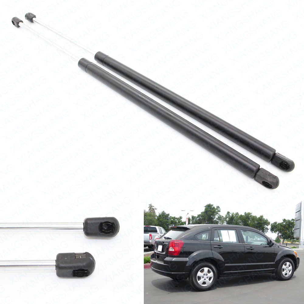 BOXI 2pcs Hatchback Lift Supports for Dodge Caliber 2007-2012 Models Without Rear Speakers 05160017AB