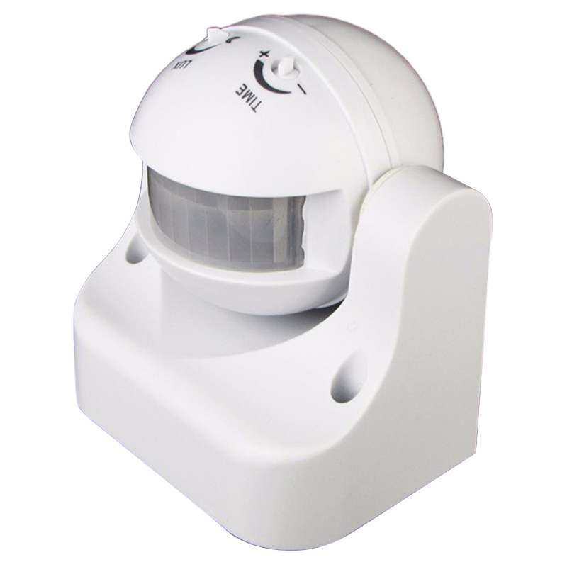 Hot 110V-240V Outdoor Ip44 180 Degree 50/60Hz Security Pir Motion Movement Sensor Detector Switch Infrared Motion Sensor Switch