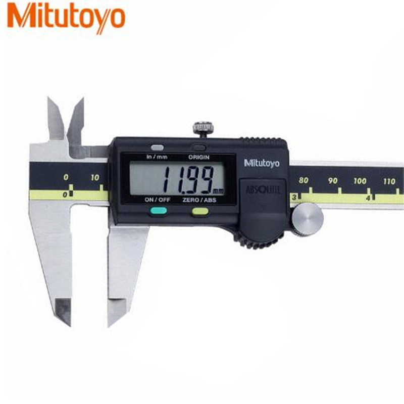 Mitutoyo calibre à coulisse numérique étriers 0-150 0-300 0-200mm LCD 500 196 20 mesure électronique en acier inoxydable