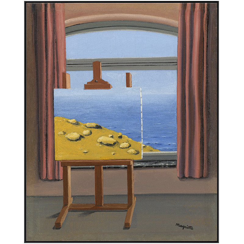 Window By Rene Magritte Posters And Prints Canvas Painting Wall