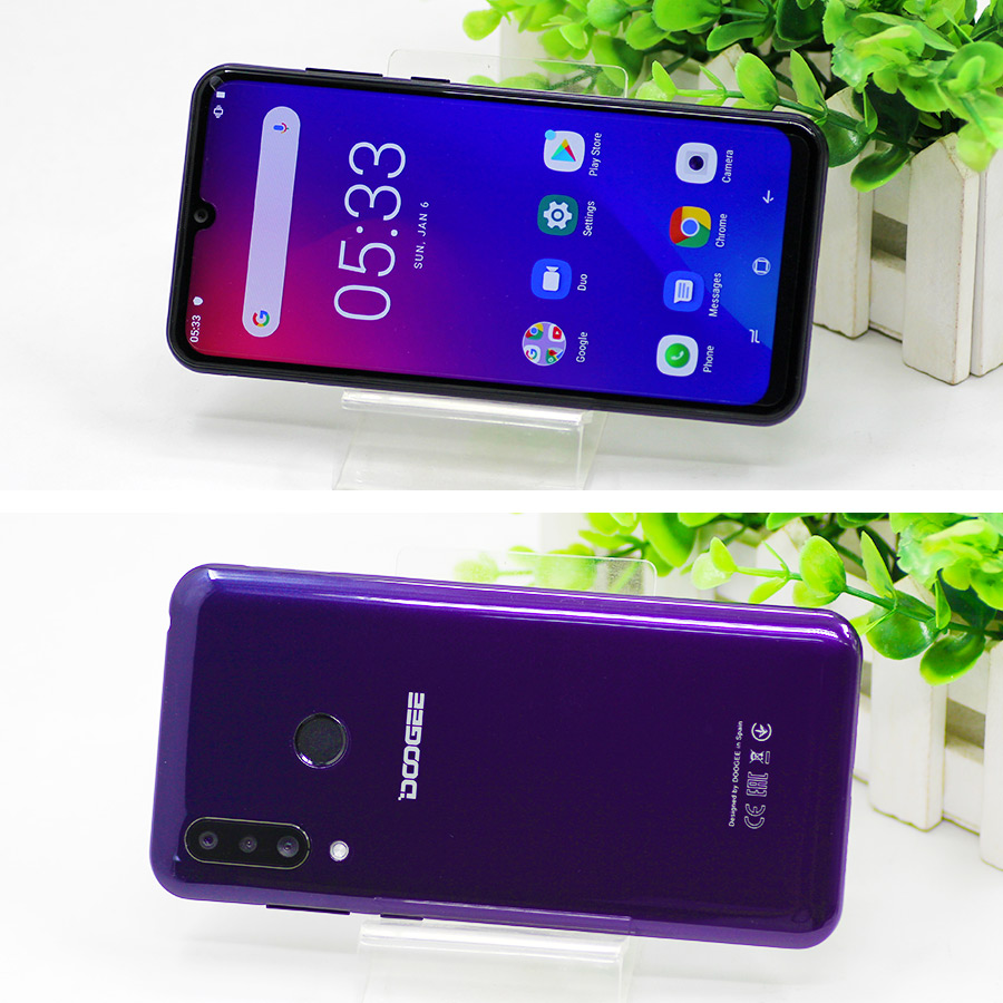 Hce83bfb5012e4c4bacc04de25e7910aa2 DOOGEE N20 New 2019 Smartphone 6.3inch FHD+ Display 4350mAh 4GB+64GB Octa Core 10w charge Fingerprint 16MP Triple Back Camera