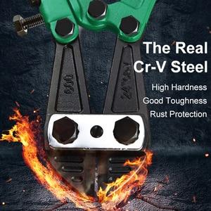 Image 3 - LAOA Bolt Cutter Heavy Duty Rebar Cutter Cr V Steel Thicken Wire Cutting Pliers Cut Lock Chain