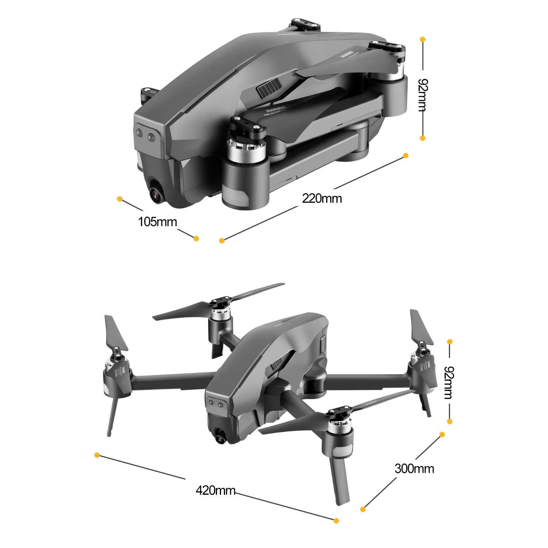 Mark300 غس أرسي الطائرة بدون طيار مع كاميرا هد 4K 5G واي فاي تدفق البصرية لتحديد المواقع فرش أجهزة الاستقبال عن بعد طائرات بدون طيار اللعب مقابل درون E58 و SG907