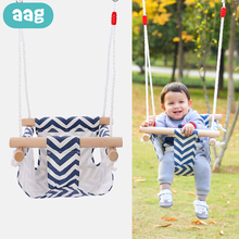 AAG Adjustable Baby Hammock Swing Rocking Chair Children Bouncer Rocker Baby Hammock Hanging Bed Crib Cradle Stand Newborn Swing