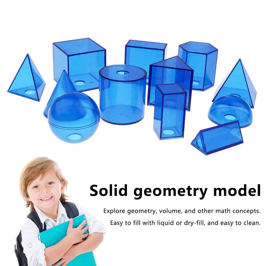 Modelo de sólidos geométricos 3D transparentes para estudiantes de educación temprana de matemáticas 12 unids/set 20 tipo DIY de Control remoto inalámbrico de carreras de modelo Kit de madera para niños de ciencia física de juguete ensamblado juguete educativo de coche