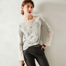 Pullovers Sweater Knitwear Long-Sleeves Casual-Style Autumn New-Fashion 3-Colors Cashmere