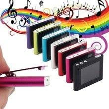 Pantalla LCD portátil de 1,8 pulgadas con soporte para reproductor MP4 de Radio FM de vídeo multimedia de música de 6 generación 2-16GB Micro SD TF tarjeta