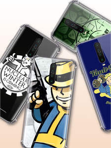 Fallout-Case Xiaomi Redmi Coque Soft-Covers Anti-Fall-Phone 6A for Note-8t 8-7 K20 Pro