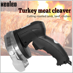 XEOLEO Turkey Kebab Slicer Electric Meat slicer Commercial Kebab cutter Middle east grill kebab knife Stainless steel 110/220V