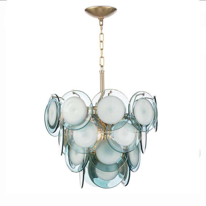 Postmodern lumière luxe créatif verre salon lustre simple créatif personnalité simple salle à manger chambre étude lampe