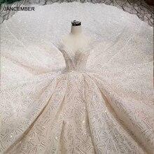 HTL001 Luxus shiny hochzeit kleider kristall cap sleeve illusion oansatz handgemachte brautkleid open keyback vesridos de novia