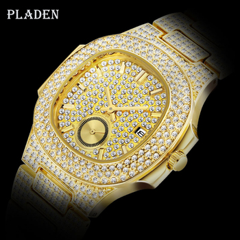 Dropshipping 2020 PLADEN PP NAUTILUS 5711 Designer Brand Watch For Men Top Luxury mens chronograph watch Diamond Wrist Watch