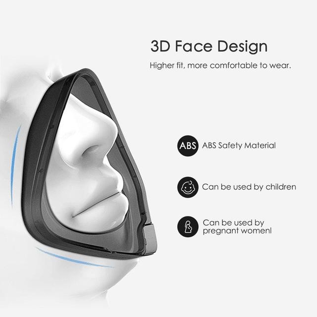 Reusable Mask Smart Electric mask Anti bacteria Dusk Face Mask Flu P2 Mask Anti Dust Pollution Facemask PM 2.5 Respiratory Flite 4