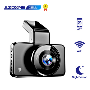 Original AZDOME M17 Dash Cam 1080P HD Night Vision ADAS Car Dash Camera WiFi Video Recorder Dual Lens Car Camera 24H Parking 1