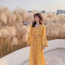 Новинка 2019 модное женское платье рубашка средней длины drees