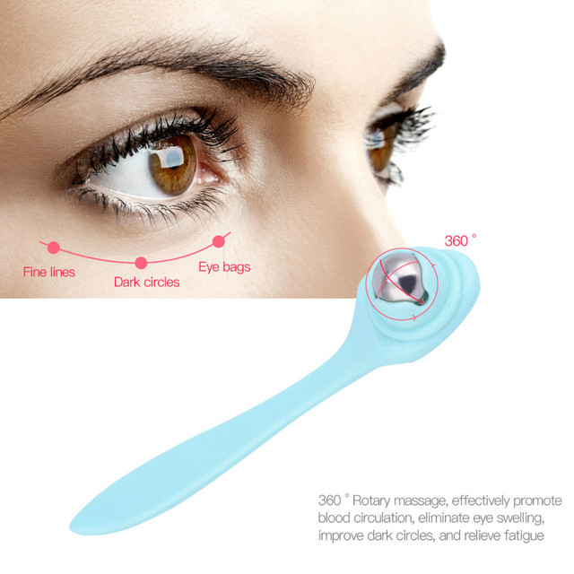 Eye Massager Anti Aging Wrinkle Dark Circle Removal Eye Patch Relief  Eyes Care Device Face Massager Beauty Tools 2