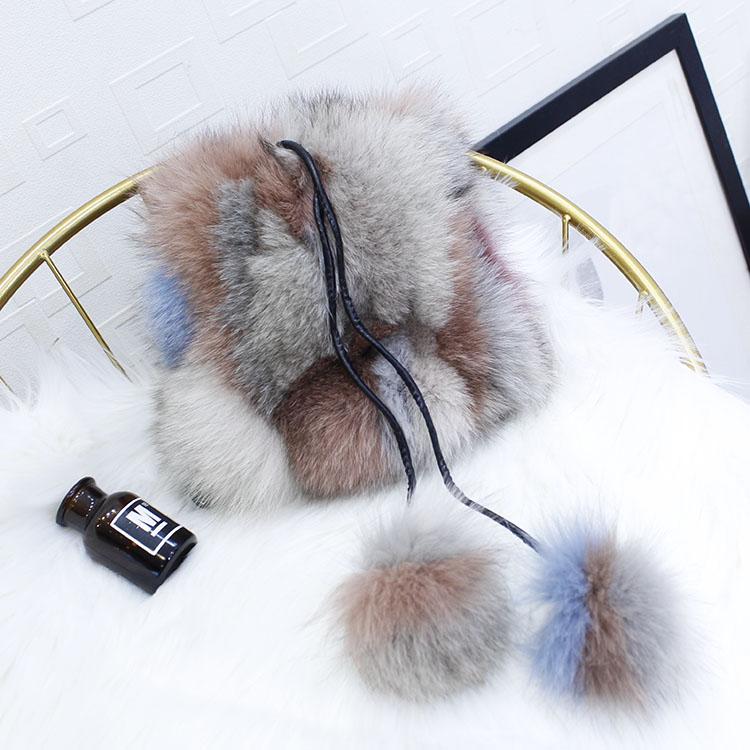 NOVA Moda Inverno Real da Pele De