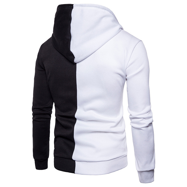 Hce85c525e2024b86bc8c4959f9faaa0b6 - NaranjaSabor New Men's Hoodie Autumn Men Fleece Hooded Sweatshirts Fashion Stitching Color Male Casual Brand Clothing N625