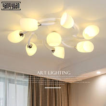 Modern artpad LED Ceiling Lamp Indoor Illuminate Lighting American Village Living Room Bedroom Childern E27 Light