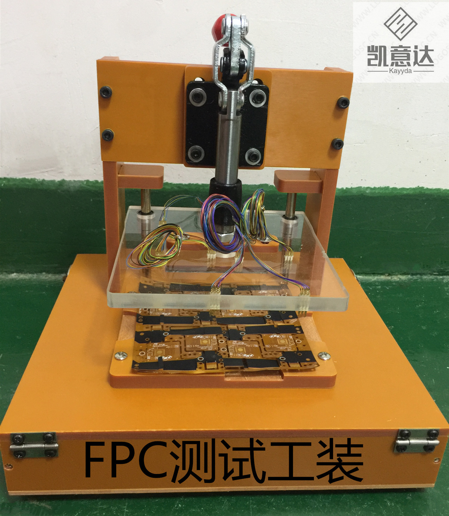 Custom Bluetooth Test Stand IC Test Stand WiFi Module PCBA Test Stand