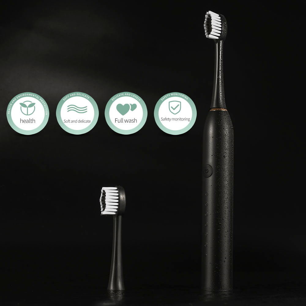 Rechargeable Sonic Electric Toothbrush Adult Timer Brush 42000 time/min Ultrasonic Washable Electronic Whitening Teeth Brush