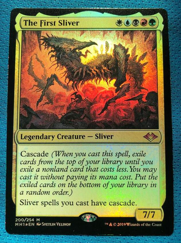 The First Sliver MH1 Foil Magician ProxyKing 8.0 VIP The Proxy Cards To Gathering Every Single Mg Card.