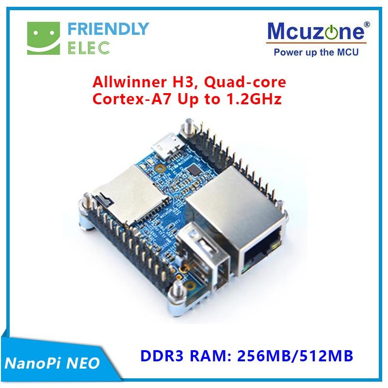 NanoPi NEO 256M/512M Allwinner H3 Quad-core Cortex-A7 (Runs U-boot,Ubuntu-Core)