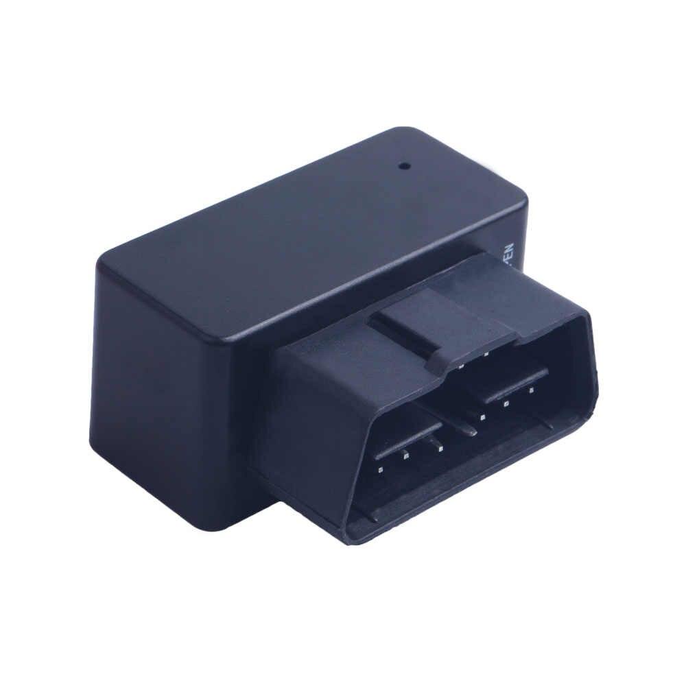 Baru Mini Plug Bermain OBD Gps Pelacak Mobil GSM OBDII OBD2 16 PIN Antarmuka Alat Pelacak Kendaraan Gps Locator perangkat Lunak & Aplikasi