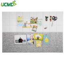 Felt Wall Sticker Message Board Schedule File Photo Display Office Home Storage Background Decor With Pushpin