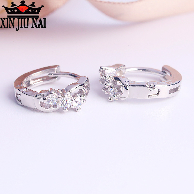 Amazon jewelry mixed batch of high end AAA inlaid zircon rose gold...