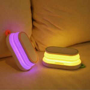 Image 5 - 10W Fast Charging  Wireless Charger + 5000mAh Power Bank + Night Light + Mobile Phone Holder for iPhone Xiaomi Phone Charger