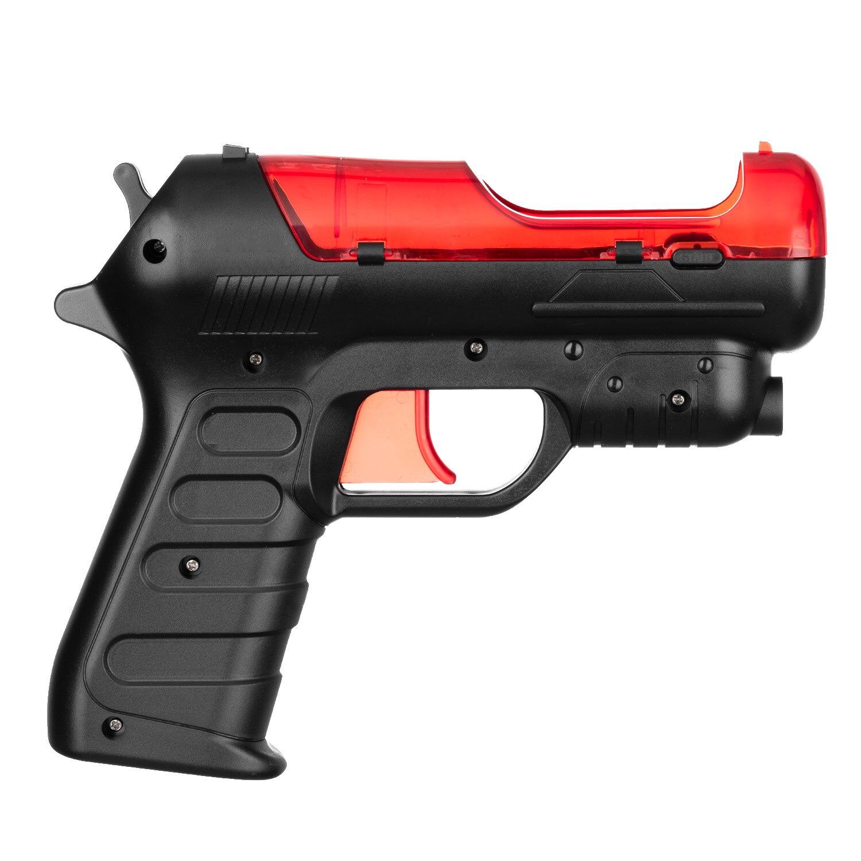 OSTENT pistola de disparo para Sony PS4 PS3 PS controlador de movimiento Manguera de latón de jardín conector rápido 1/2 conector de cobre manguera de jardín rosca hembra 1/2 3/4 pistola de agua 1 Juego