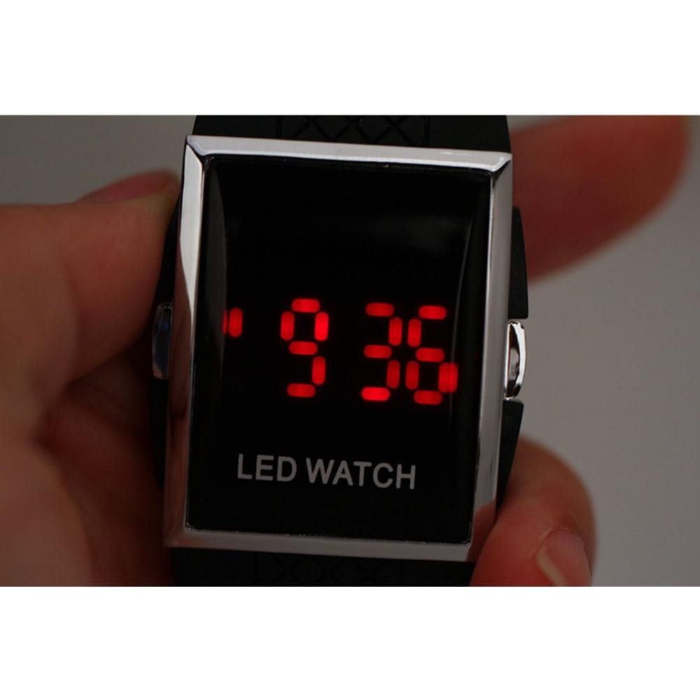 Men Women Waterproof Watch Silicone LED Digital Date Bracelet Sport WristWatch