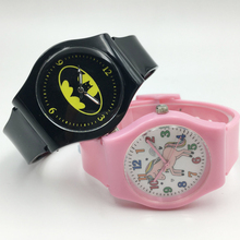 Cute Pink Jelly Band Unicorn Watches For Girl Kids Gift Cool